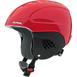 Skihelm Carat red-blue asym