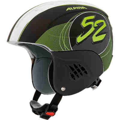 Skihelm Carat LE black-52 matt