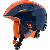 Skihelm Grap 2.0 Jr. navy-orange