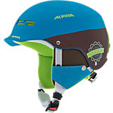 Skihelm Spam Cap blue-brown matt
