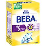 BEBA HA 2 - nach dem 6. Monat Folgenahrung mit hydrolysiertem Eiweiß, 550 g