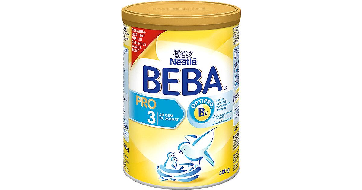 BEBA PRO 3 - Ab dem 10. Monat Folgemilch, 800 g