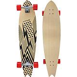 "Streetsurfing® Longboard Fishtail 42"" - Flash Black"