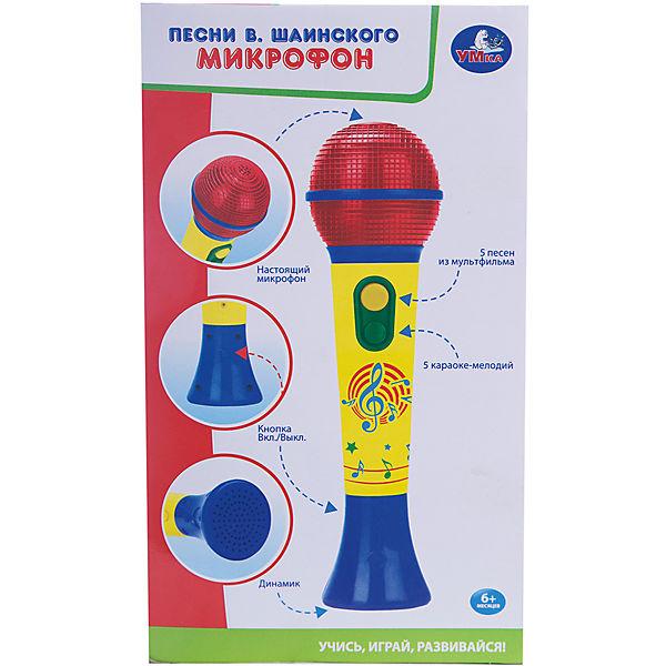 Микрофон с песнями В.Шаинского (5 песен, 5 мелодий), Умка