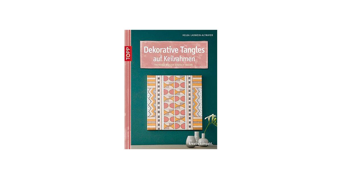 Buch - Dekorative Tangles auf Keilrahmen