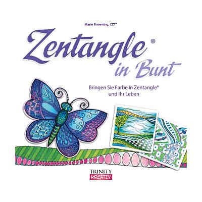 Zentangle in Bunt