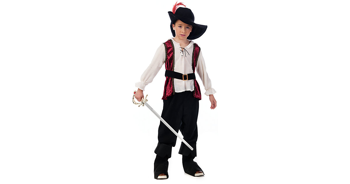 Kostüm Musketier Gr. 152/158 Jungen Kinder