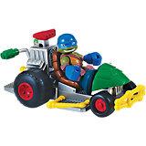 """Turtles Half Shell Heroes - Patrol Buggy mit """"Racer"""" Leo"""