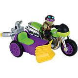 """Turtles Half Shell Heroes - Rippin' Rider mit """"Biker"""" Donnie"""
