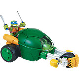 "Turtles Half Shell Heroes - Stealth Bike mit ""Racer"" Leo"