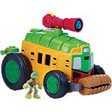 "Turtles Half Shell Heroes - Shellraiser mit ""Driver"" Leo"
