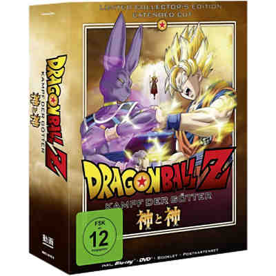 BLU-RAY Dragonball Z: Kampf der Götter (Limited Collectors Edition)