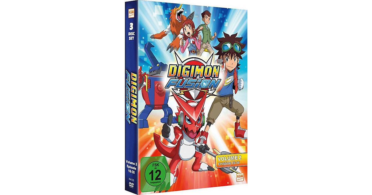 DVD Digimon Fusion 02 (Folge 16-30)