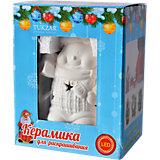 """Керамический LED-сувенир для раскрашивания """"Снеговик"""" или """"Дед Мороз"""""""