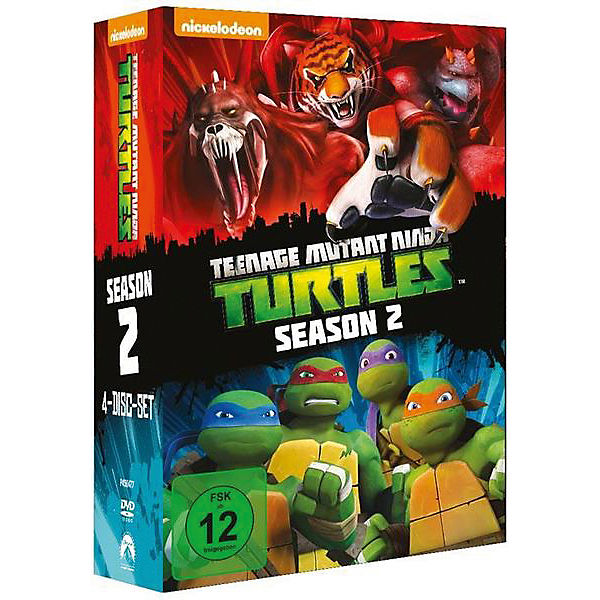 DVD Teenage Mutant Ninja Turtles - Season 2