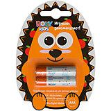 Батарейки для игрушек, тип ААА, 2 шт., Roxy-kids