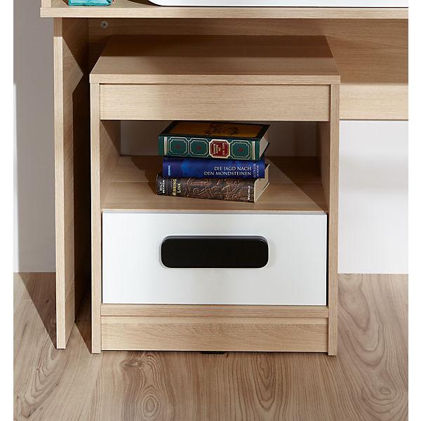 komplett jugendzimmer globus 6 tlg einzelbett kleiderschrank standregal nachttisch. Black Bedroom Furniture Sets. Home Design Ideas