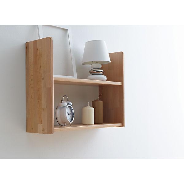 wandregal buche massiv natur lackiert 60 x 45 cm ticaa mytoys. Black Bedroom Furniture Sets. Home Design Ideas