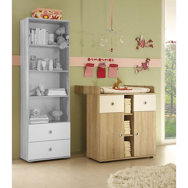 babyzimmer milu 4 tlg kleiderschrank 2 trg babybett. Black Bedroom Furniture Sets. Home Design Ideas