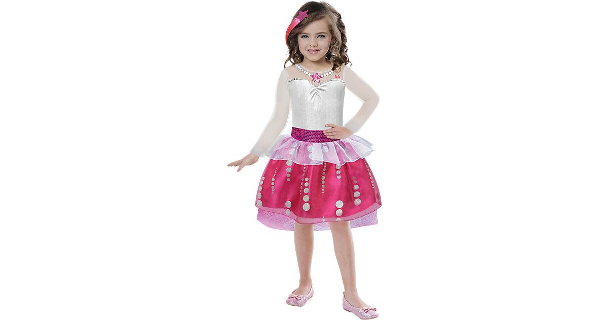 Kostüm Barbie Rock & Royals Classic Gr. 104/116 Mädchen Kleinkinder