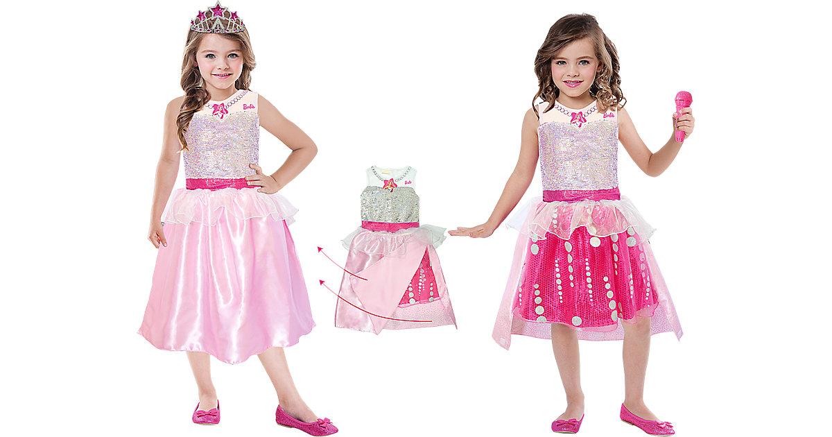 Kostüm Barbie Rock & Royals Premium Gr. 104/116 Mädchen Kleinkinder