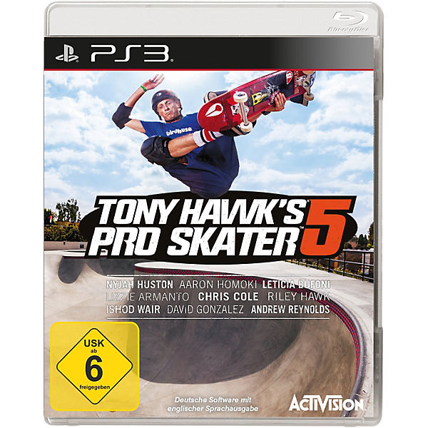 PS3 Tony Hawk Pro Skater Pro 5