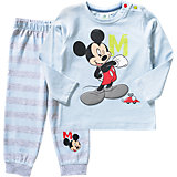 DISNEY MICKEY MOUSE & FRIENDS Baby Set Langarmshirt + Hose für Jungen