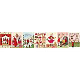 Weihnachtspostkarten-Set, 7 Stück