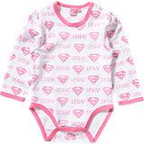 SUPERMAN Baby Body für Mädchen
