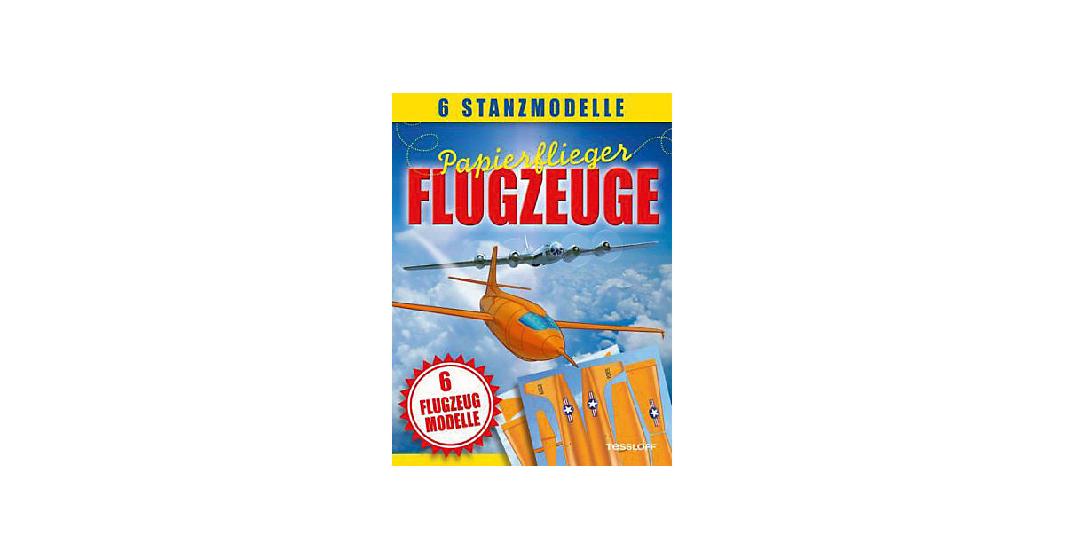 Buch - Papierflieger: Flugzeuge - 6 Stanzmodelle