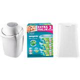 SANGENIC MK4 Hygiene Plus Komfort Windeltwister inkl. Basis & Nachfüllkassetten