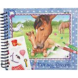 """Карманная раскраска """"Horses Dreams"""", Creative Studio"""