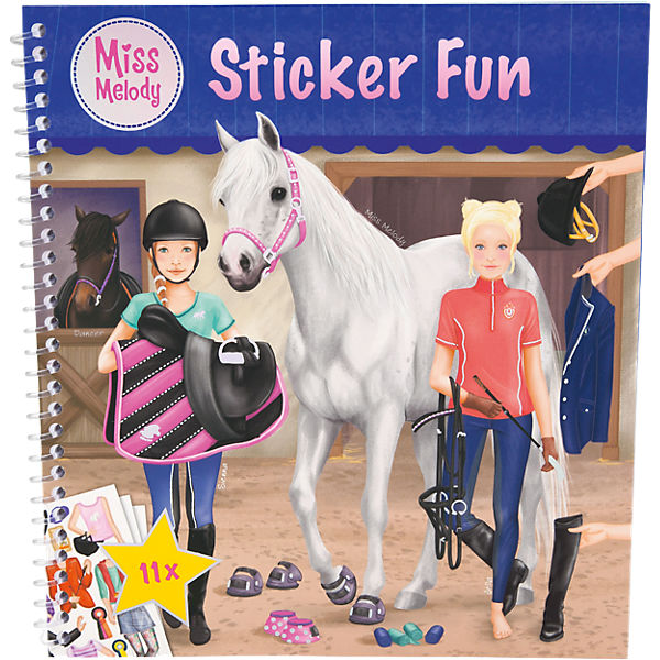 Sticker Fun Miss Melody