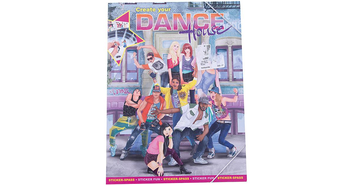 Malbuch House Create your Dance