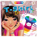 Malbuch T-Shirt Designer Top Model