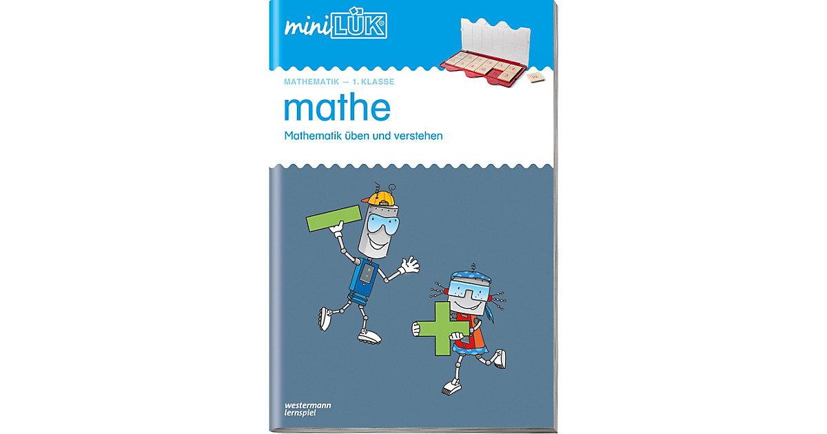 Buch - mini LÜK: Mathe 1. Klasse, Übungsheft