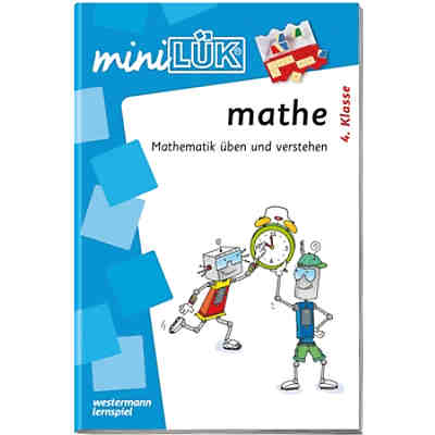 mini LÜK: Mathe 4. Klasse, Übungsheft