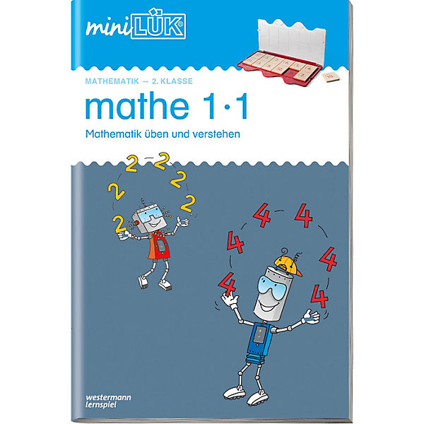 mini LÜK: Mathe 1x1, Übungsheft