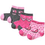 SMILEY WORLD Socken 3-er Pack für Mädchen