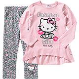 HELLO KITTY Set Langarmshirt + Leggings für Mädchen