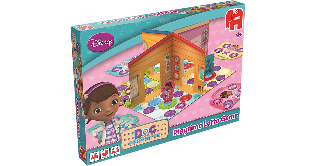 Pop-up Lotto Spiel - Doc McStuffins