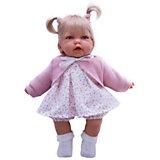 Кукла Элис в розовом, 27 см, Munecas Antonio Juan
