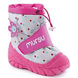 Сапоги для девочки MURSU