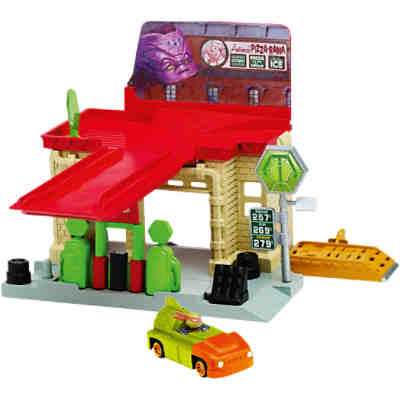 Turtles Deluxe Abwasserskanalspielset Gas Station