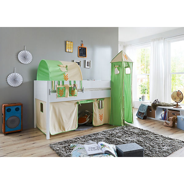 vorhangset mit turm f r spielbetten indianer relita mytoys. Black Bedroom Furniture Sets. Home Design Ideas