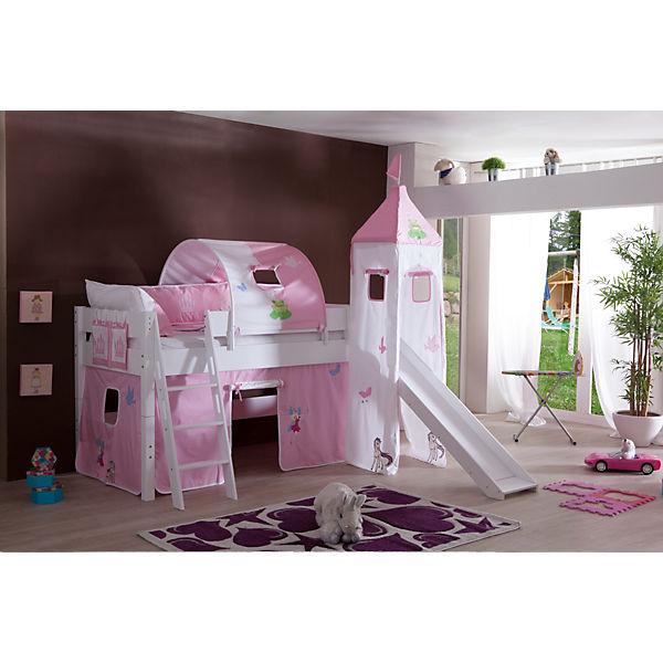 vorhangset mit turm f r spielbetten prinzessin relita mytoys. Black Bedroom Furniture Sets. Home Design Ideas
