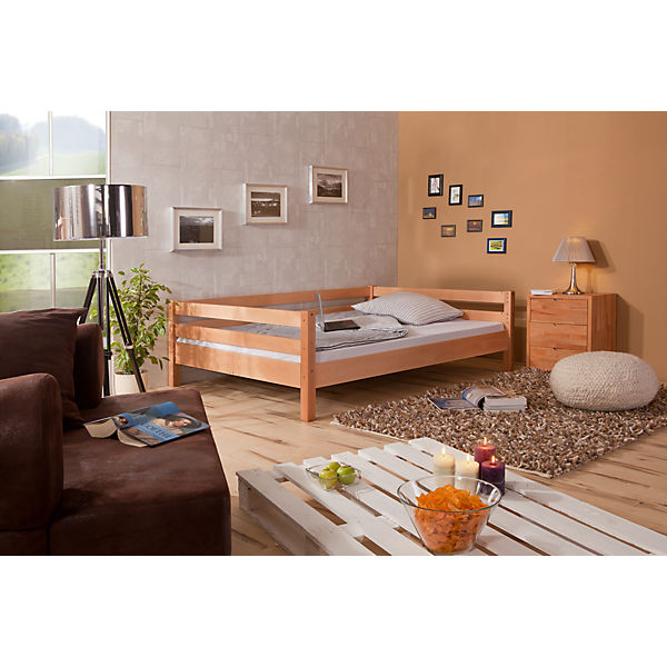 hochbett campus buche natur 140 x 200 cm relita mytoys. Black Bedroom Furniture Sets. Home Design Ideas