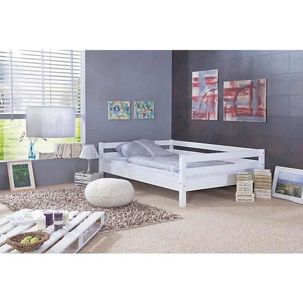 hochbett campus buche wei 140 x 200 cm relita mytoys. Black Bedroom Furniture Sets. Home Design Ideas