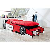 Autobett Racing Team R1, rot/weiß, 90 x 200 cm