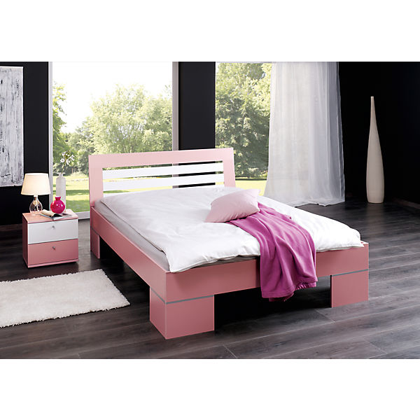 futonbett jenny rosa 140 x 200 cm relita mytoys. Black Bedroom Furniture Sets. Home Design Ideas